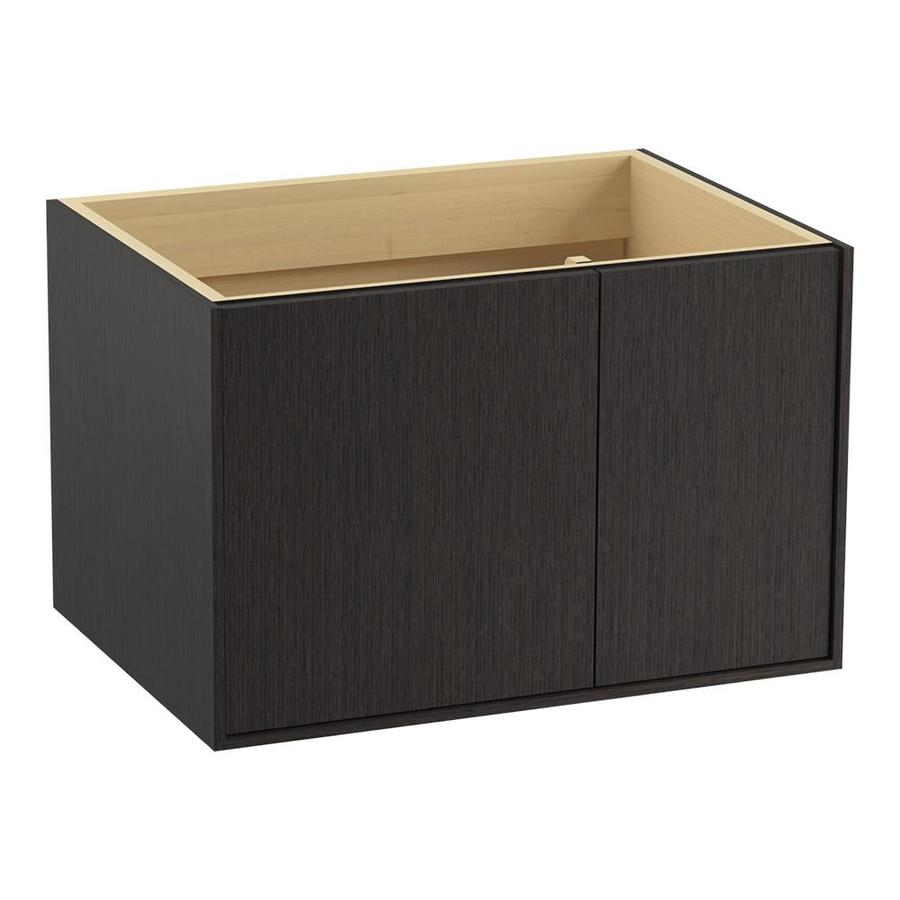 KOHLER Jute Satin Oak 30-in Contemporary Bathroom Vanity