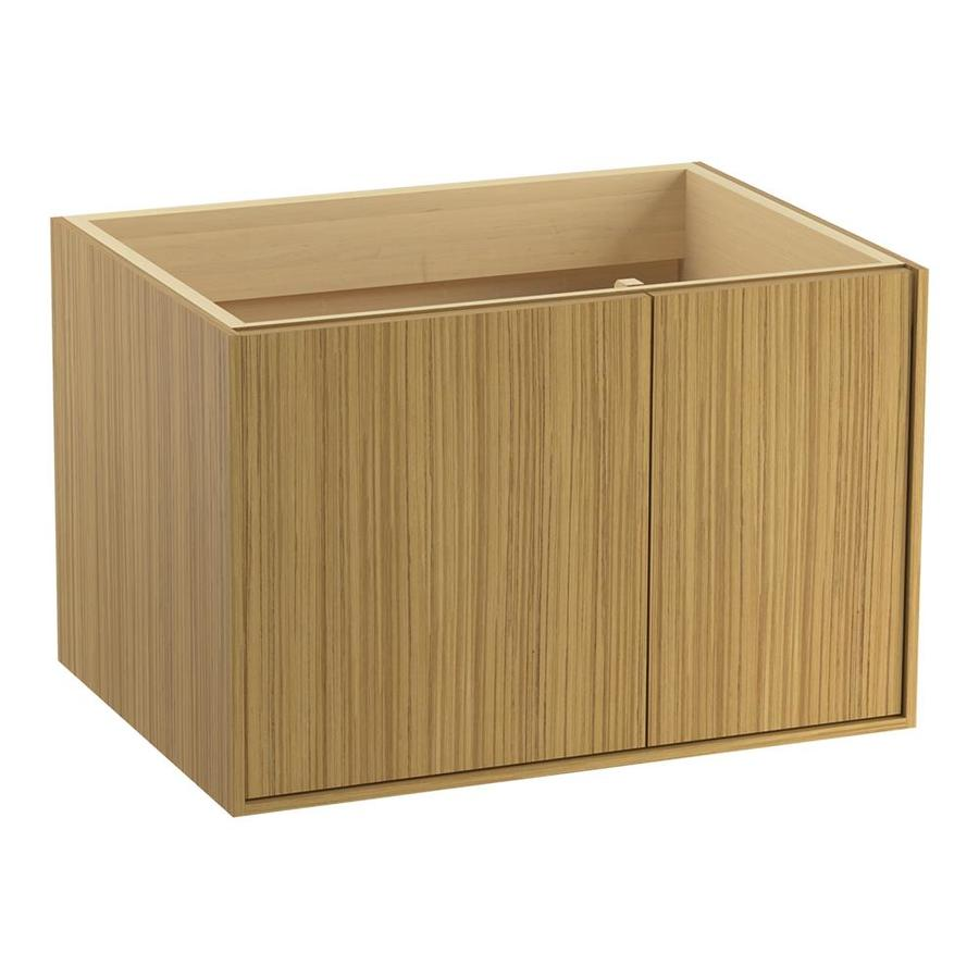 KOHLER Jute Corduroy Teak 30-in Contemporary Bathroom Vanity