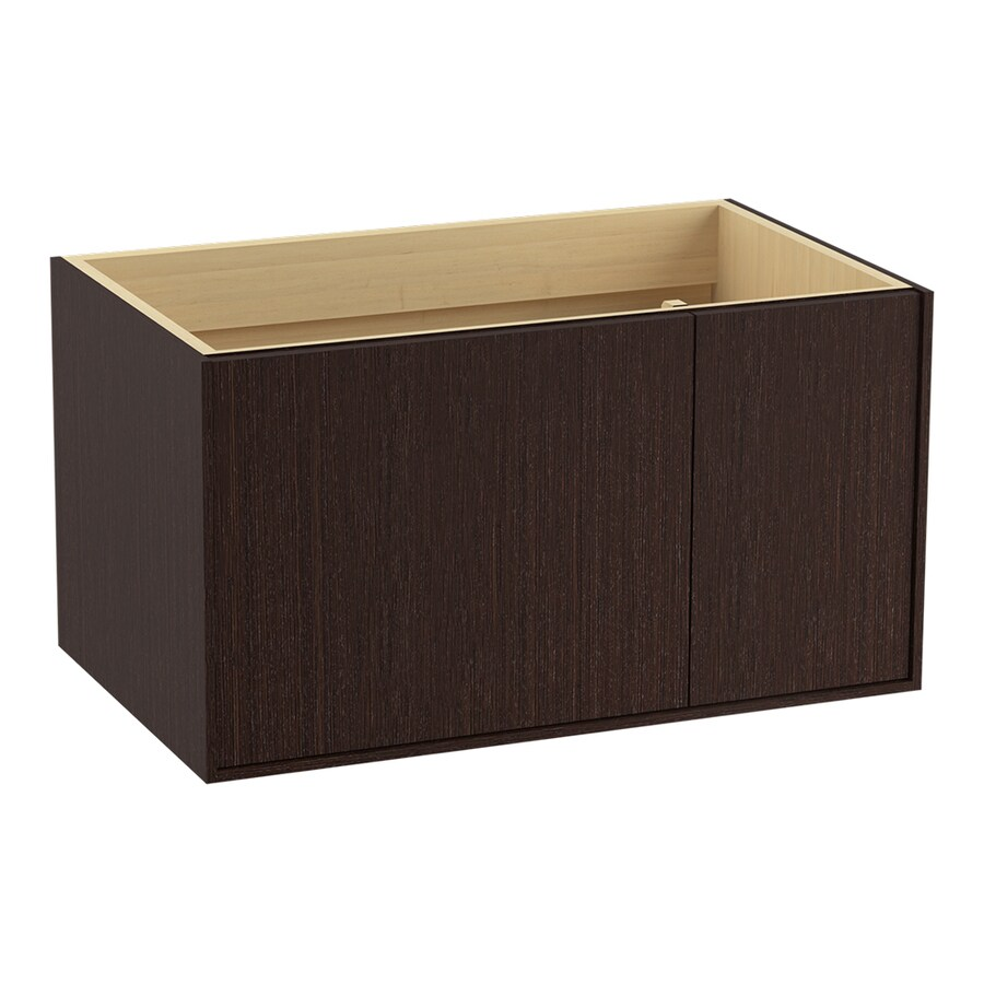 KOHLER Jute Wall-mount Laurentii Silk Bathroom Vanity (Common: 36-in x 22-in; Actual: 36-in x 21.87-in)