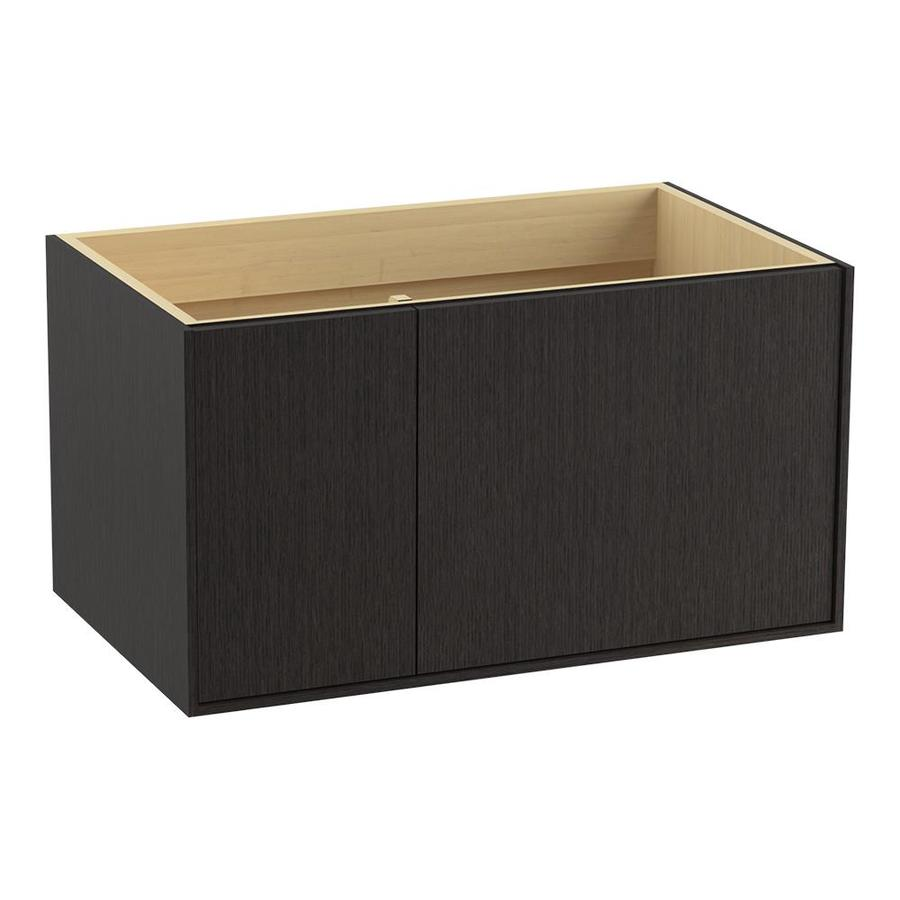 KOHLER Jute 36.0000-in Satin Oak Contemporary Bathroom Vanity