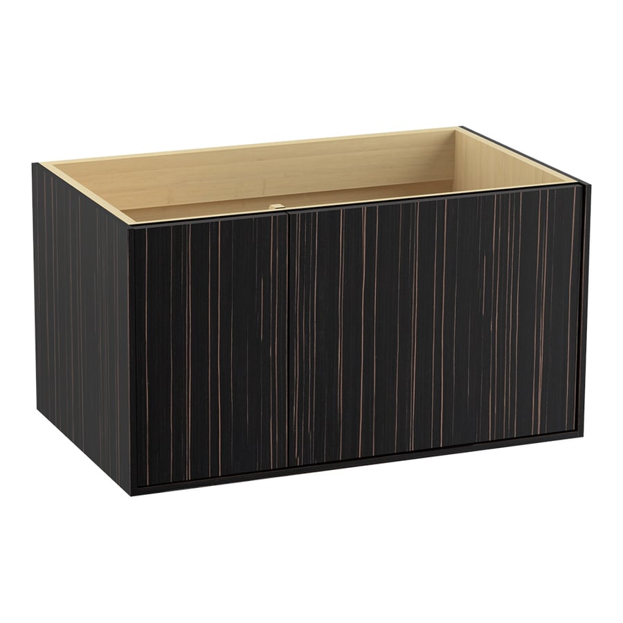 KOHLER Jute Wall-mount Ebony Velour Bathroom Vanity (Common: 36-in x 22-in; Actual: 36-in x 21.87-in)