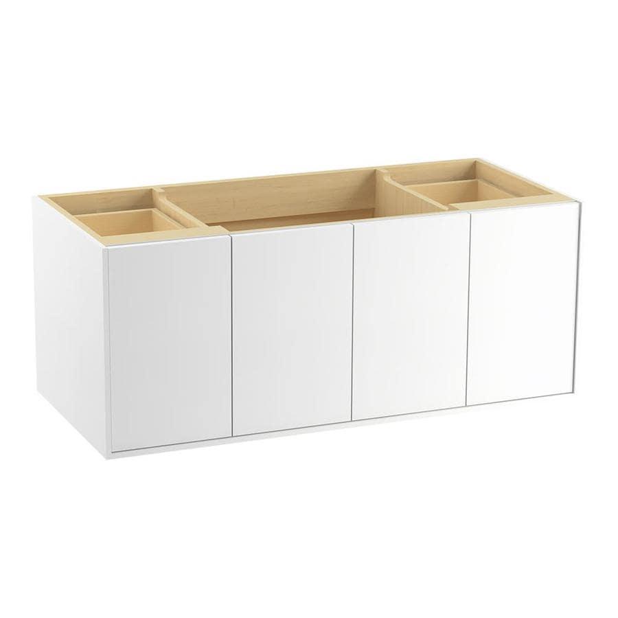 KOHLER Jute 48-in Linen White Contemporary Bathroom Vanity