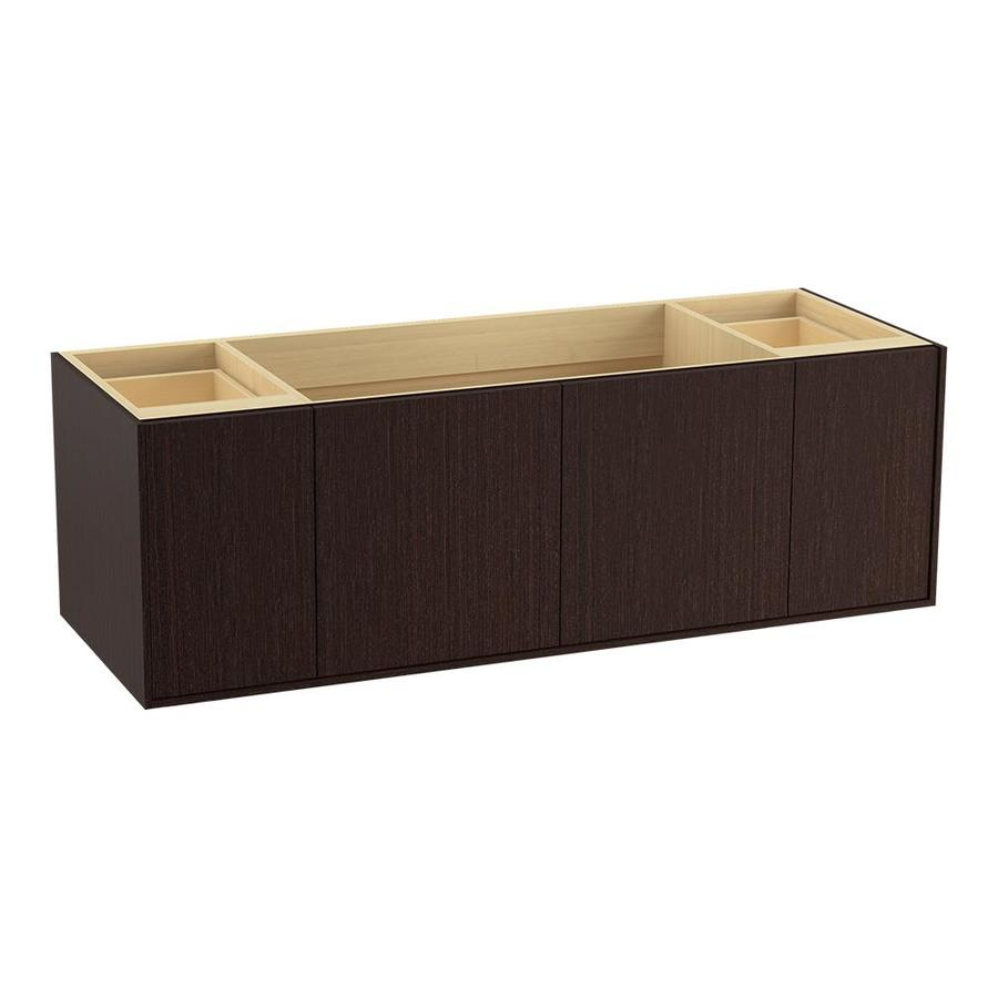 KOHLER Jute Laurentii Silk (Common: 60-in x 22-in) Contemporary Bathroom Vanity (Actual: 60-in x 21.5-in)