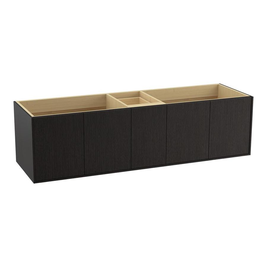 Kohler Jute 72 In Satin Oak Bathroom Vanity Cabinet At