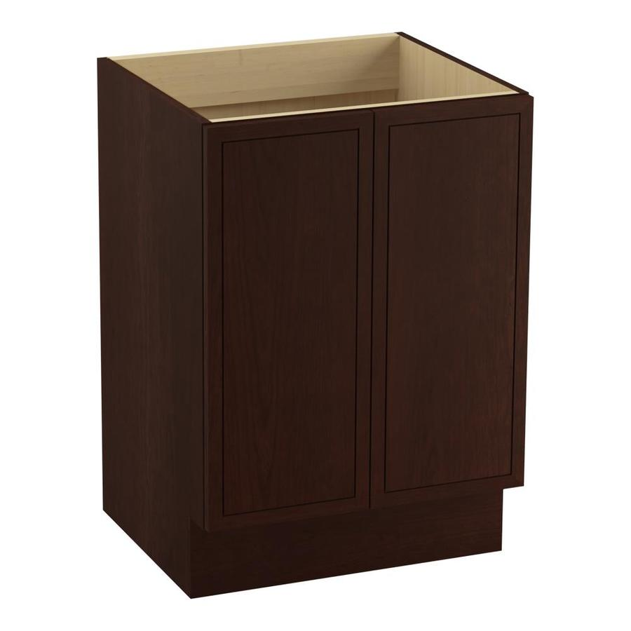 KOHLER Jacquard 24-in Cherry Tweed Traditional Bathroom Vanity