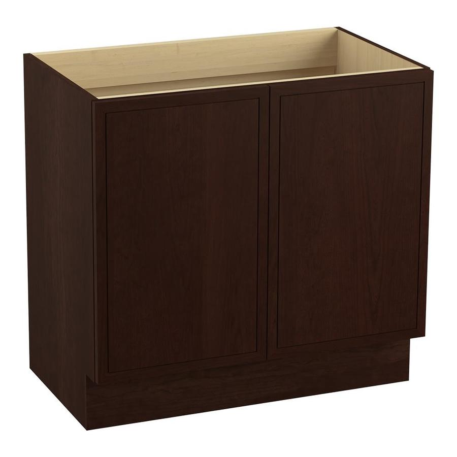 KOHLER Jacquard 36-in Cherry Tweed Traditional Bathroom Vanity
