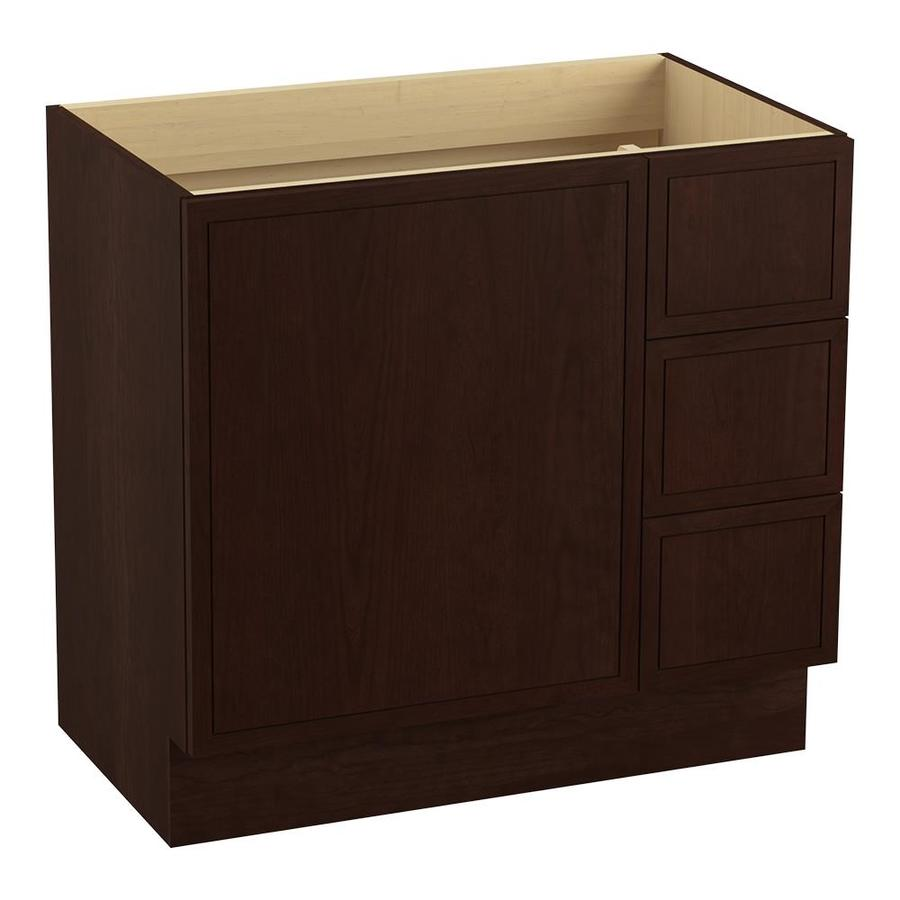 KOHLER Jacquard Cherry Tweed Bathroom Vanity (Common: 36-in x 22-in; Actual: 36-in x 21.87-in)