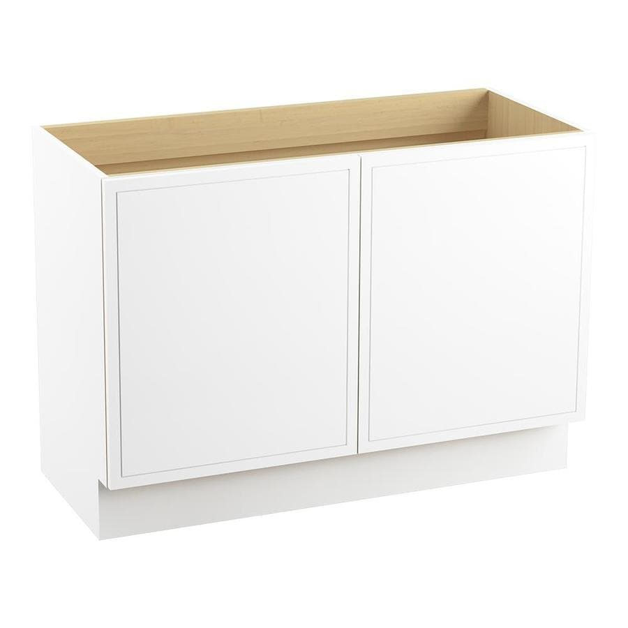 KOHLER Jacquard Linen White 48-in Traditional Bathroom Vanity