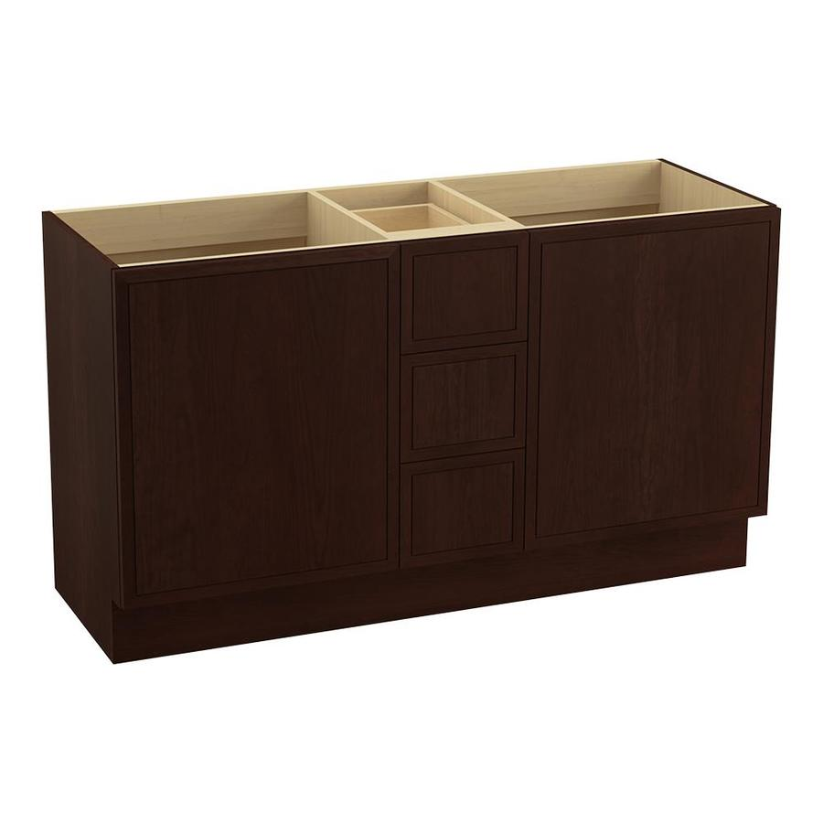 KOHLER Jacquard Cherry Tweed Bathroom Vanity (Common: 60-in x 22-in; Actual: 60-in x 21.87-in)