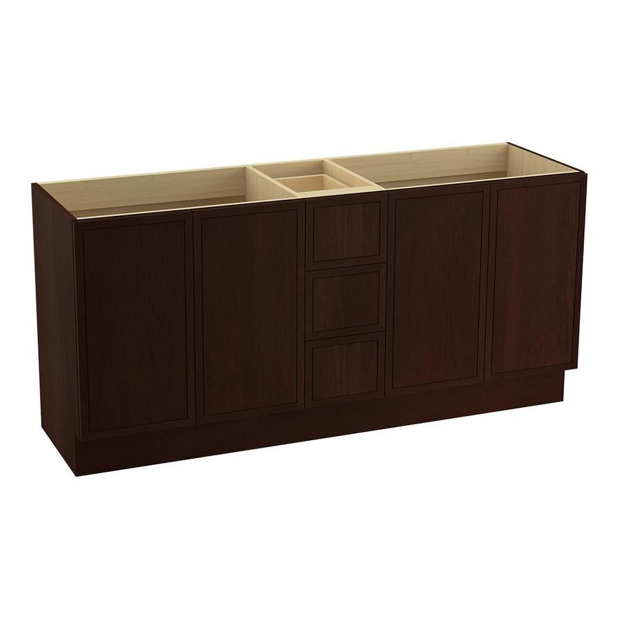 KOHLER Jacquard Cherry Tweed Bathroom Vanity (Common: 72-in x 22-in; Actual: 72-in x 21.87-in)