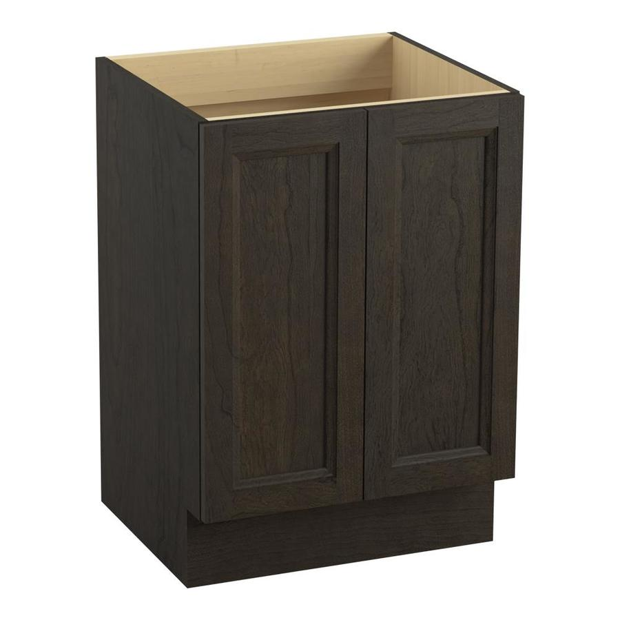 KOHLER Damask 24.0000-in Felt Grey Traditional Bathroom Vanity