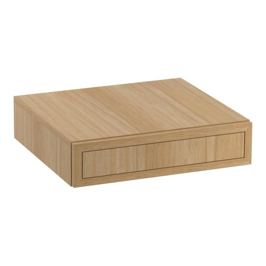 KOHLER Jacquard Khaki White Oak Vanity Shelf Kit