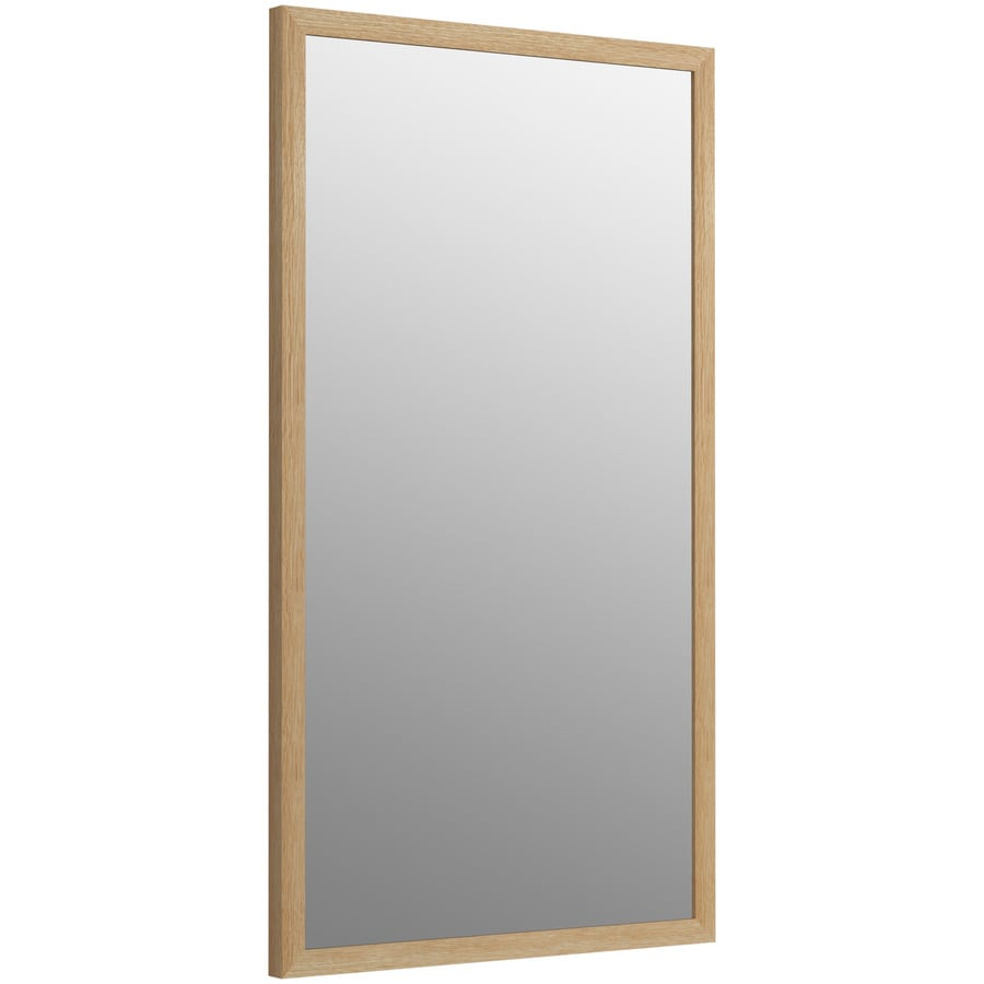 Shop KOHLER Jacquard 19.5-in x 34.5-in Khaki White Oak Rectangular ...