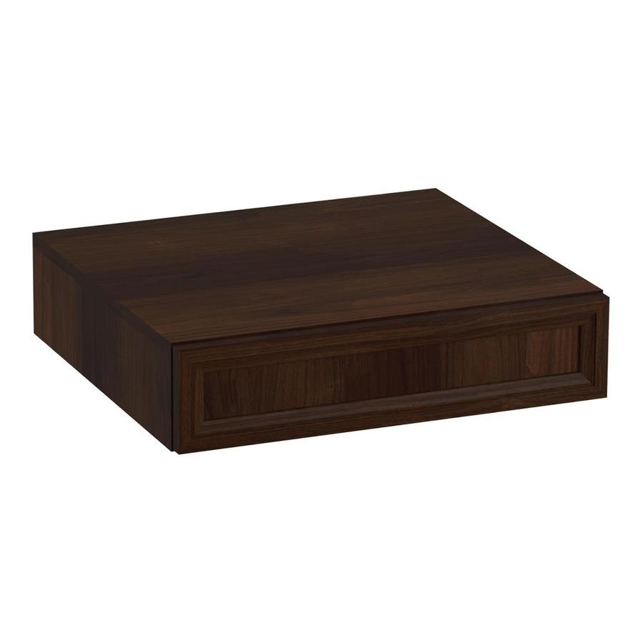 KOHLER Damask Ramie Walnut Vanity Shelf Kit