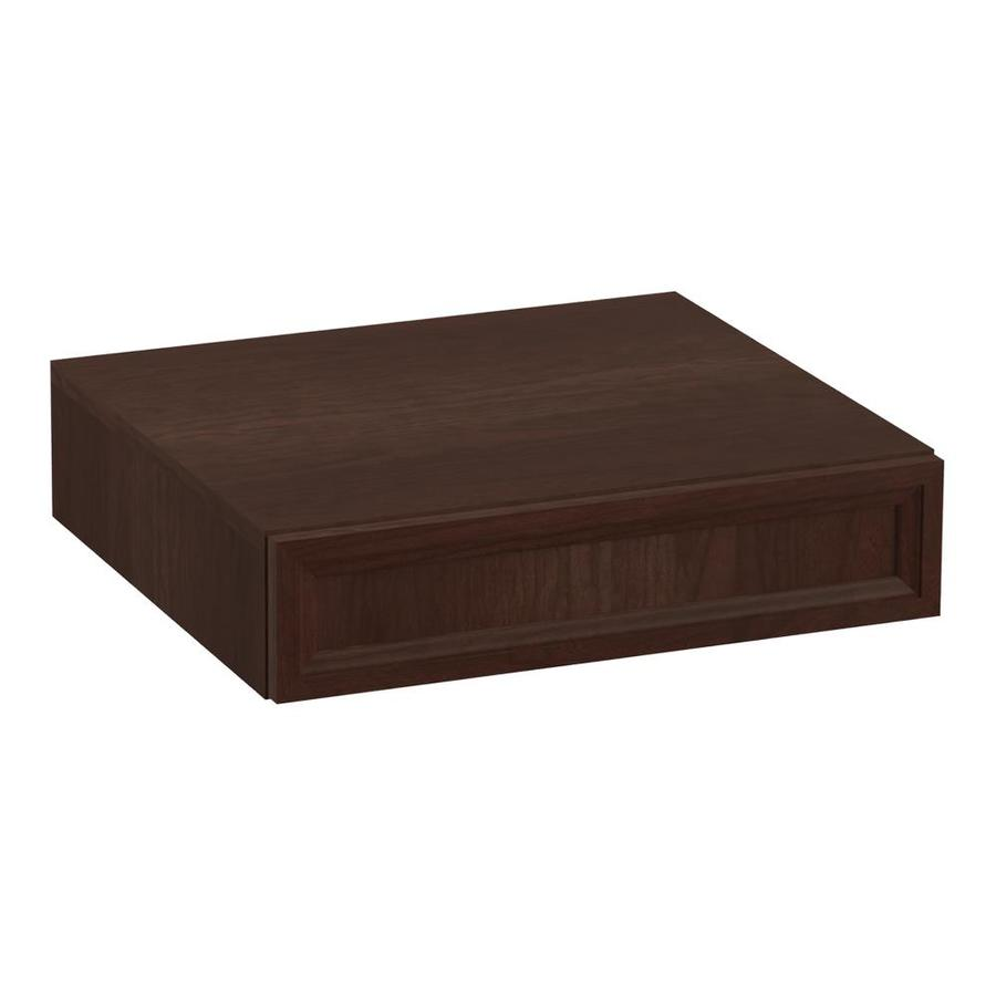 KOHLER Damask Cherry Tweed Vanity Shelf Kit