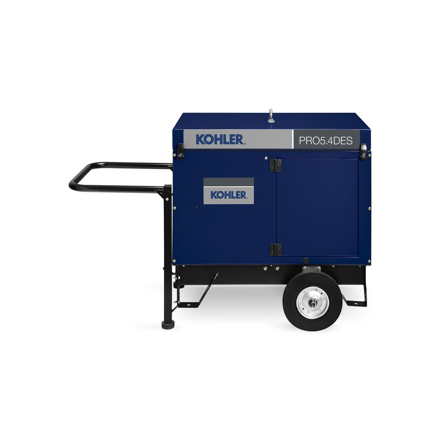 KOHLER PRO54Des 4700-Running Watts Portable Generator with Kohler Engine