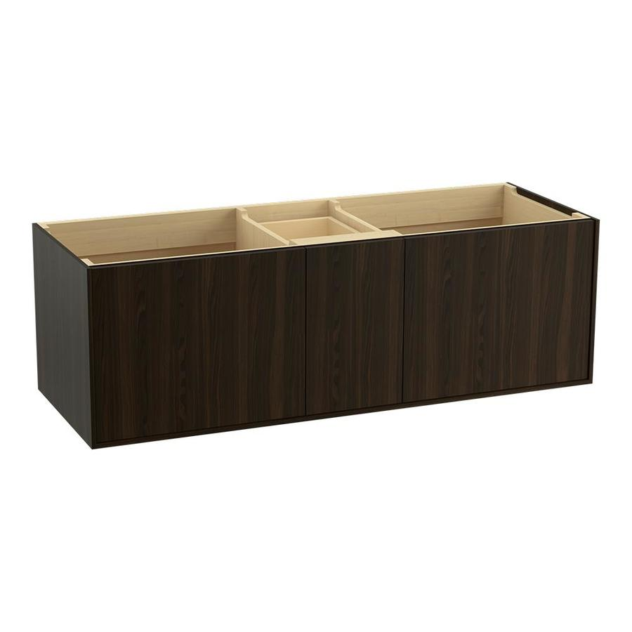 KOHLER Jute Jersey Oak 60-in Contemporary Bathroom Vanity