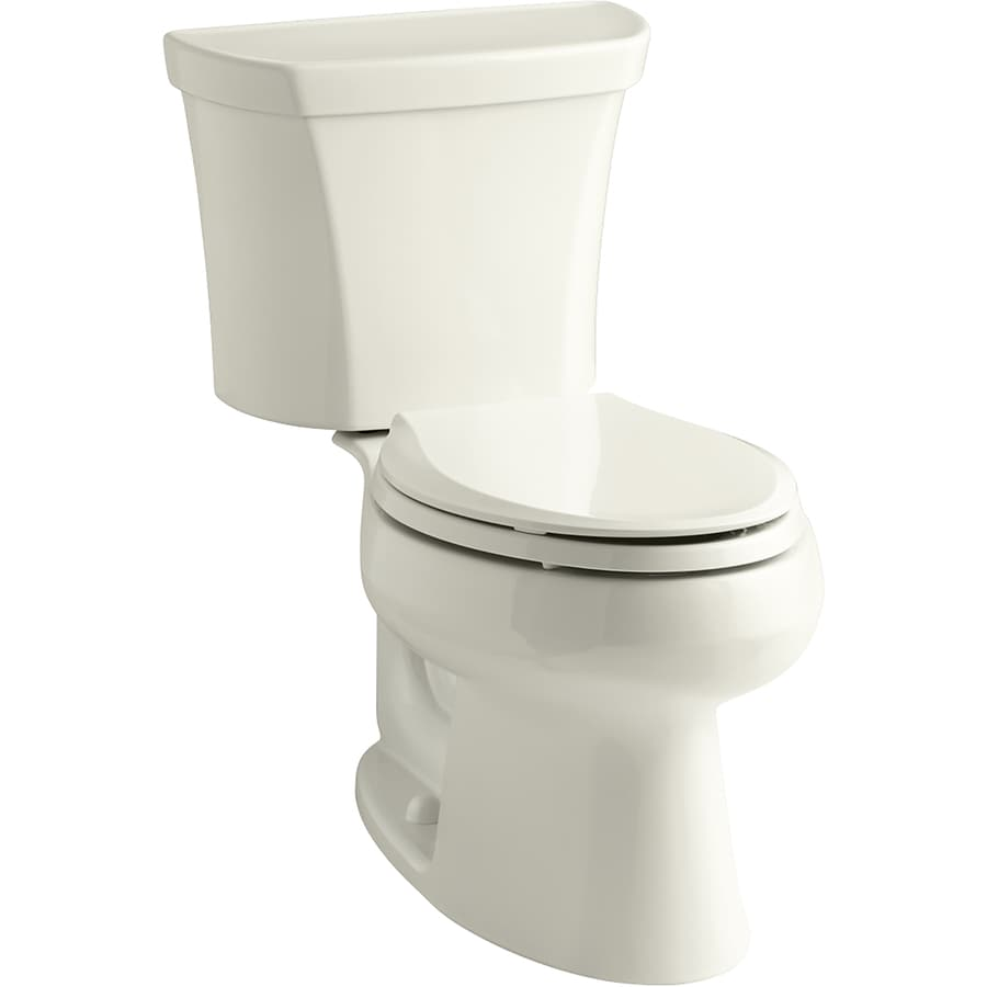 kohler wellworth biscuit watersense labeled dual flush elongated standard height 2 piece toilet. Black Bedroom Furniture Sets. Home Design Ideas
