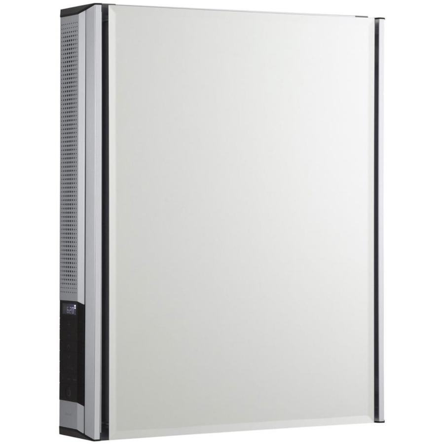 KOHLER 20-in x 26-in Rectangle Surface Mirrored Aluminum Medicine Cabinet