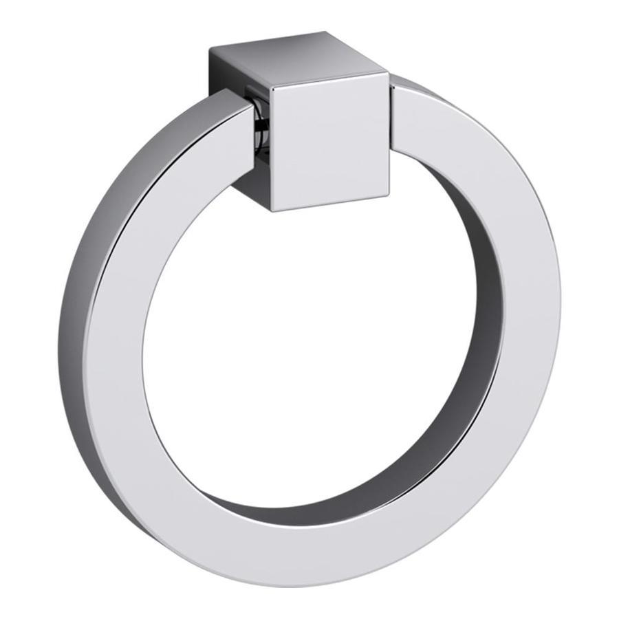 KOHLER Chrome Jacquard Ring Cabinet Pull