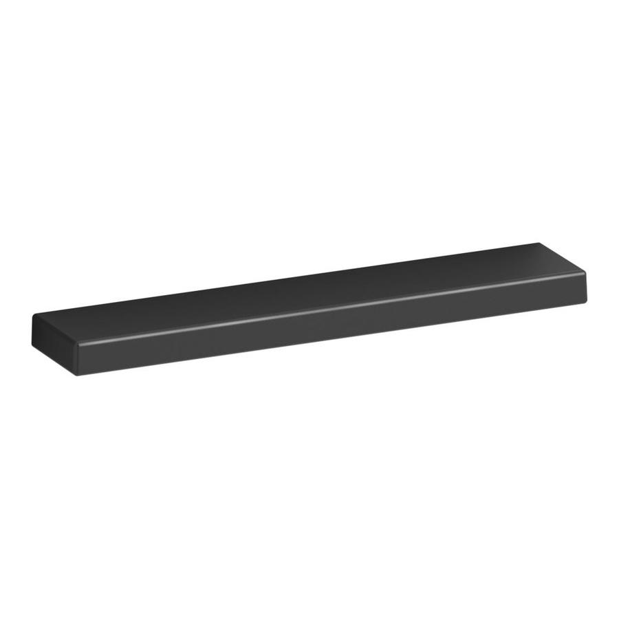 KOHLER 3-in Center-to-Center Black Jute Bar Cabinet Pull