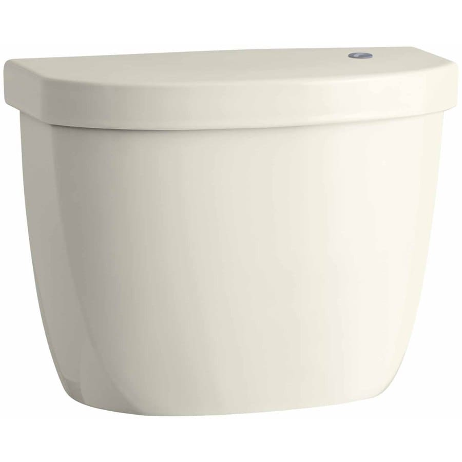 KOHLER Cimarron Biscuit 1.28-GPF (4.85-LPF) 12 Rough-In Single-Flush High-Efficiency Toilet Tank