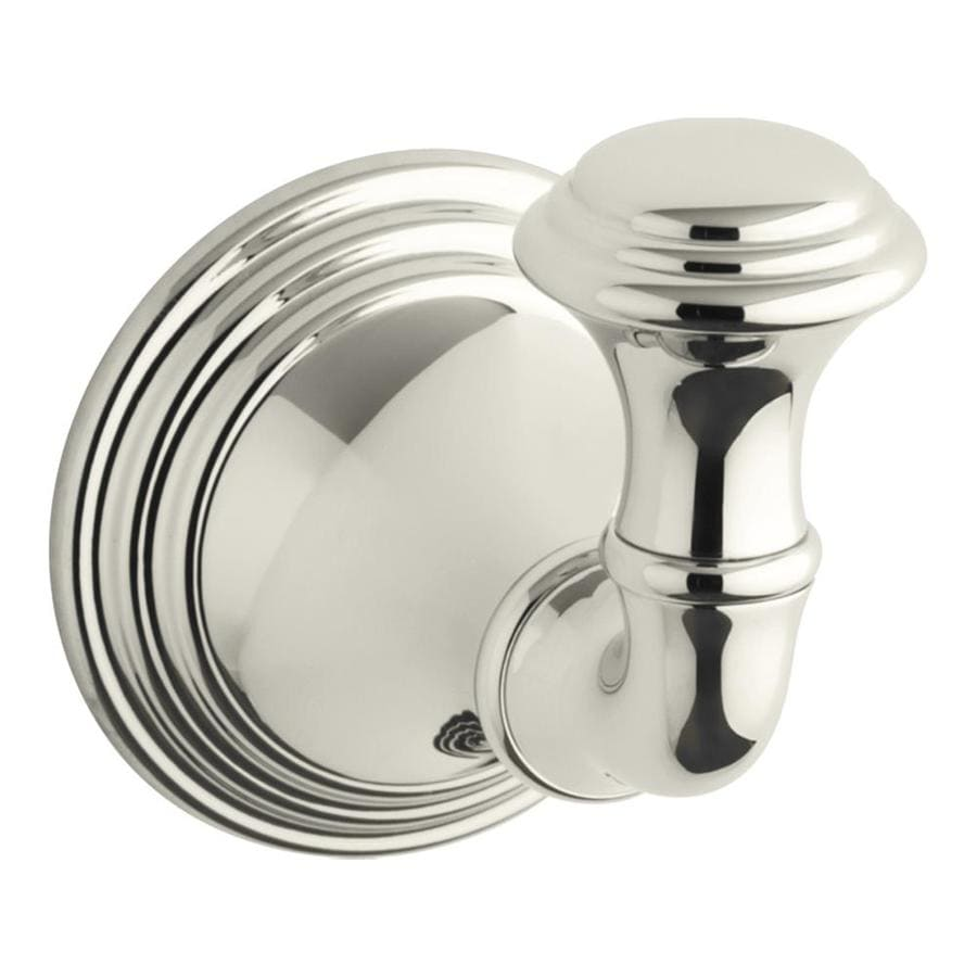 KOHLER Devonshire Vibrant Polished Nickel Robe Hook