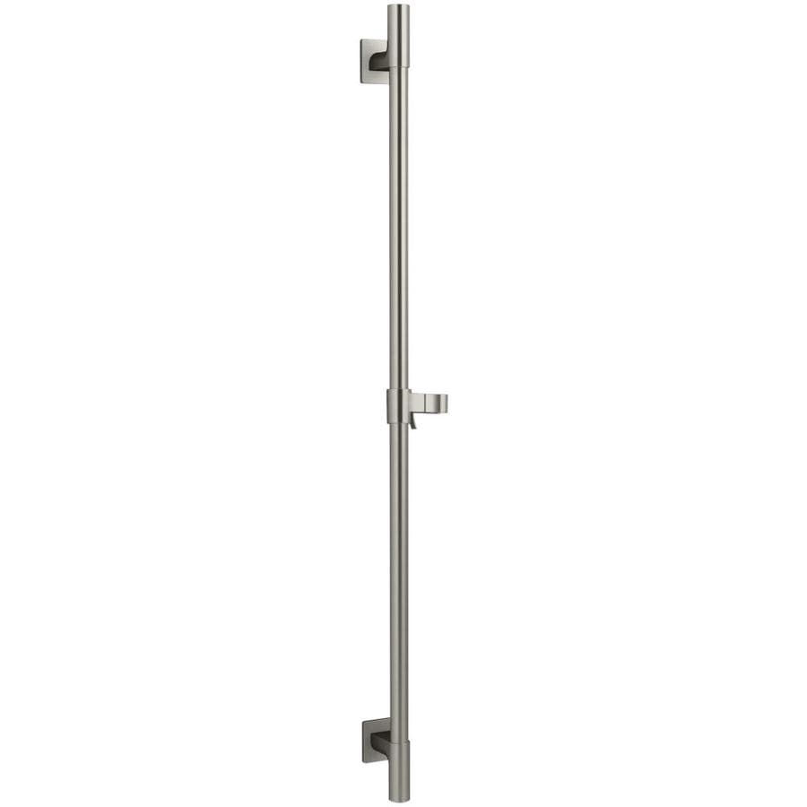 KOHLER Brushed Nickel Slide Bar