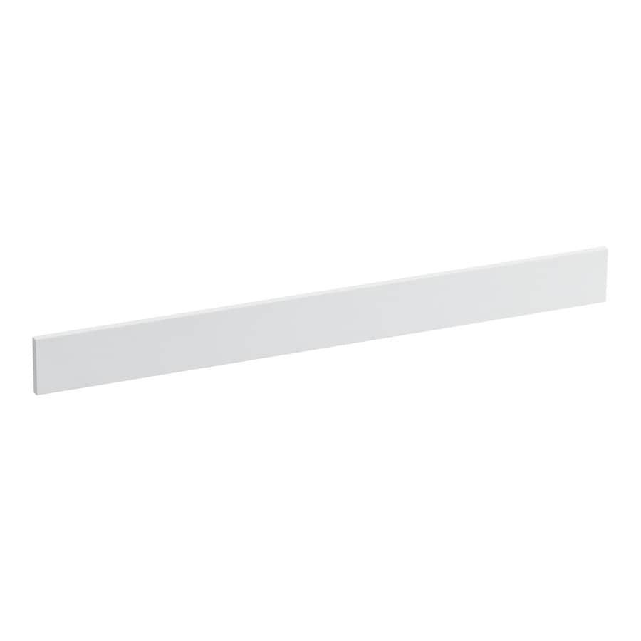 KOHLER 3.5-in x 37-in White Expressions Solid Surface Backsplash