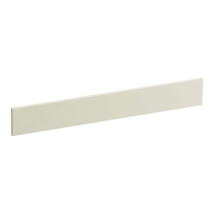 Shop KOHLER 3.5-in x 25-in Biscuit Expressions Solid Surface ...