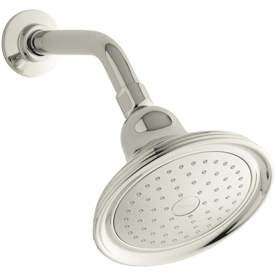 KOHLER Artifacts Vibrant polished Nickel 1-Spray Shower Head