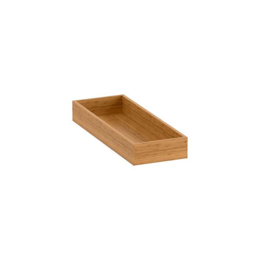 Shop kohler bamboo vanity drawer organizer at for Bathroom tray organizer