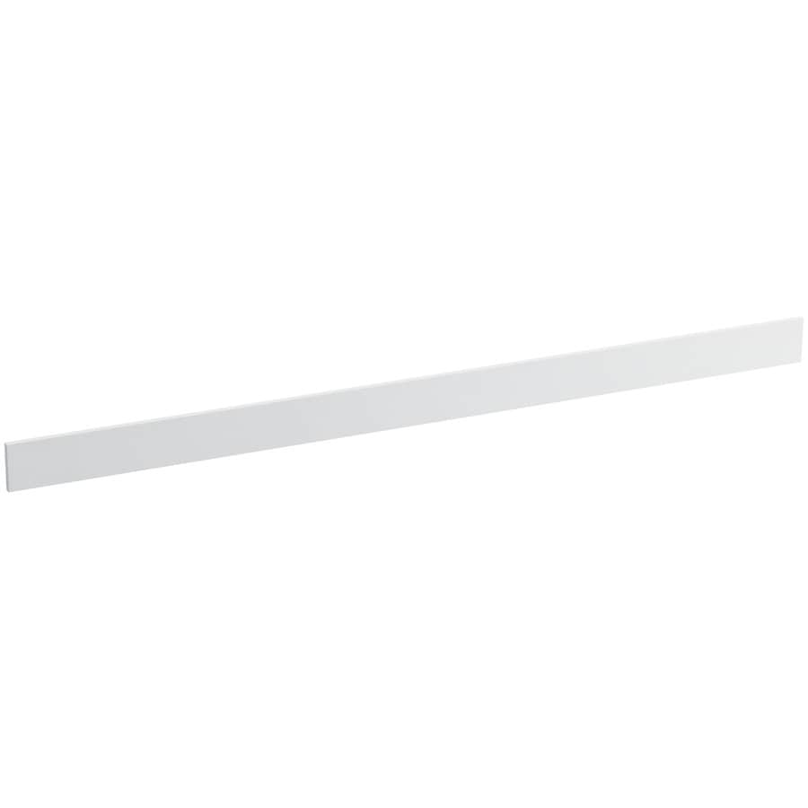 KOHLER 3.5-in x 61-in White Expressions Solid Surface Backsplash