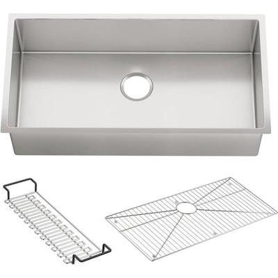 Kohler 35 In X 18 31 In Stainless Steel Single Basin