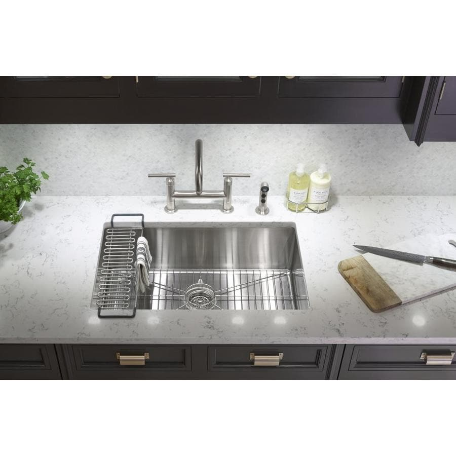 Shop Kohler X 29 In Single Basin Stainless