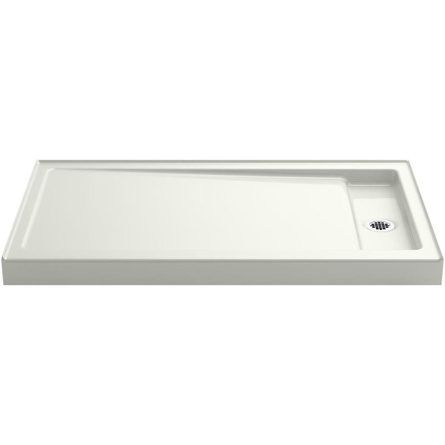 KOHLER Bellwether Dune Cast Iron Shower Base (Common: 34-in W x 60-in L; Actual: 34-in W x 60-in L)