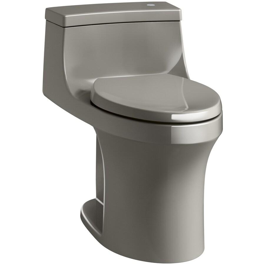 KOHLER San Souci Cashmere 1.28-GPF (4.85-LPF) 12 Rough-In WaterSense Elongated 1-Piece Chair Height Rear Outlet Toilet