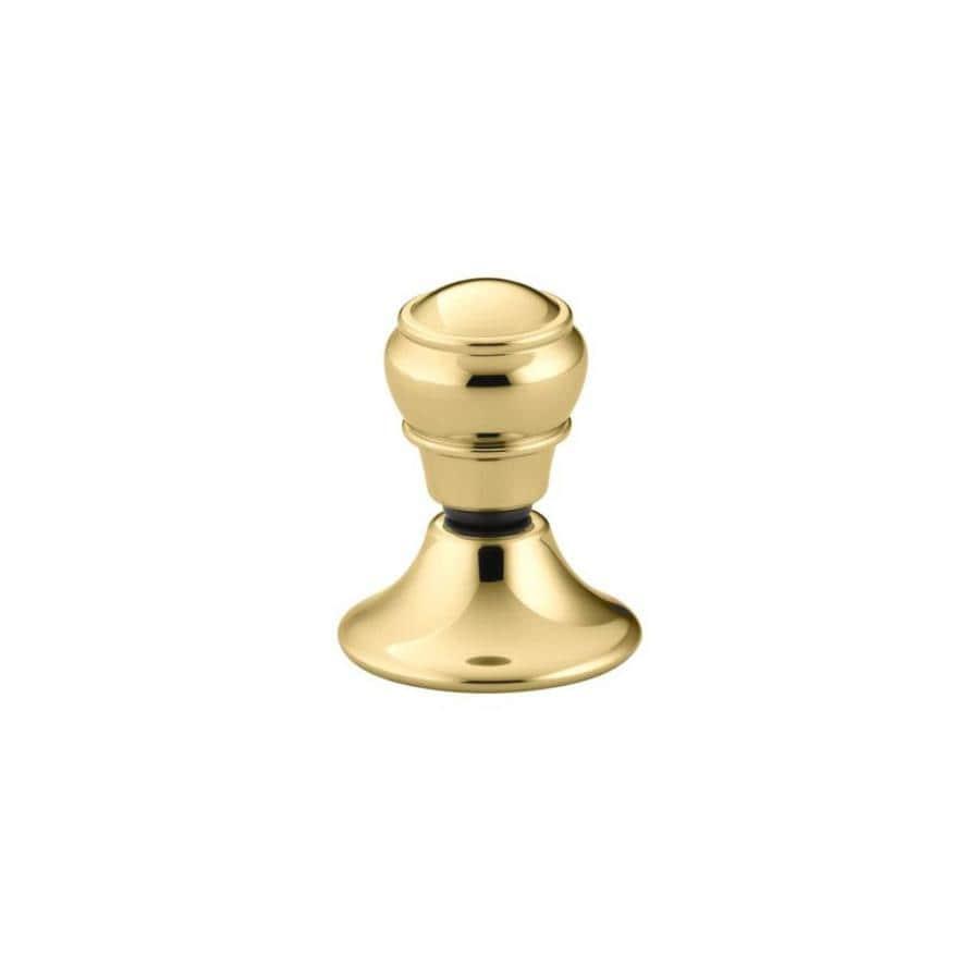 KOHLER Portrait Vibrant Polished Brass Flush Actuator