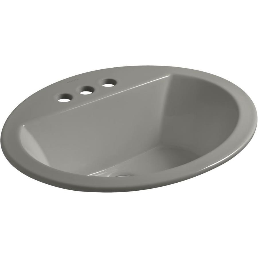 Kohler Bryant Cashmere Fire Clay Drop In Round Bathroom