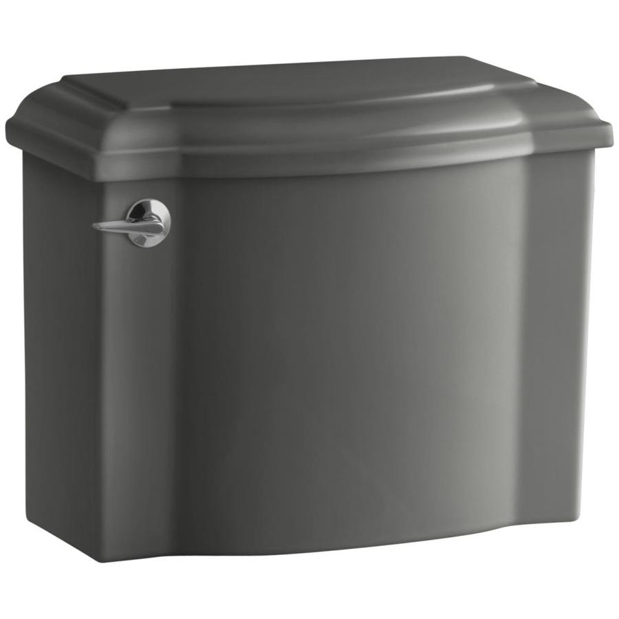 KOHLER Devonshire Thunder Grey 1.28-GPF Single-Flush High-Efficiency Toilet Tank