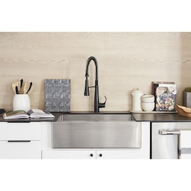 Kohler Tailor Farmhouse Apron Front 28 In X 21 In Single Bowl Kitchen Sink In The Kitchen Sinks Department At Lowes Com