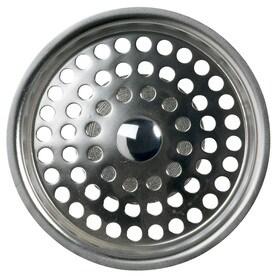 kohler kitchen sink strainers strainer baskets at lowes com rh lowes com Sink Basket Strainer Stainless Steel Sink Strainer Drain