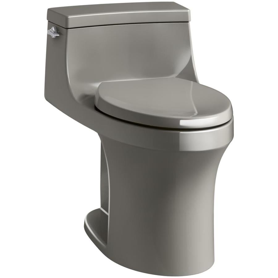 KOHLER San Souci 1.28-GPF (4.85-LPF) Cashmere Compact Elongated 1-piece Toilet