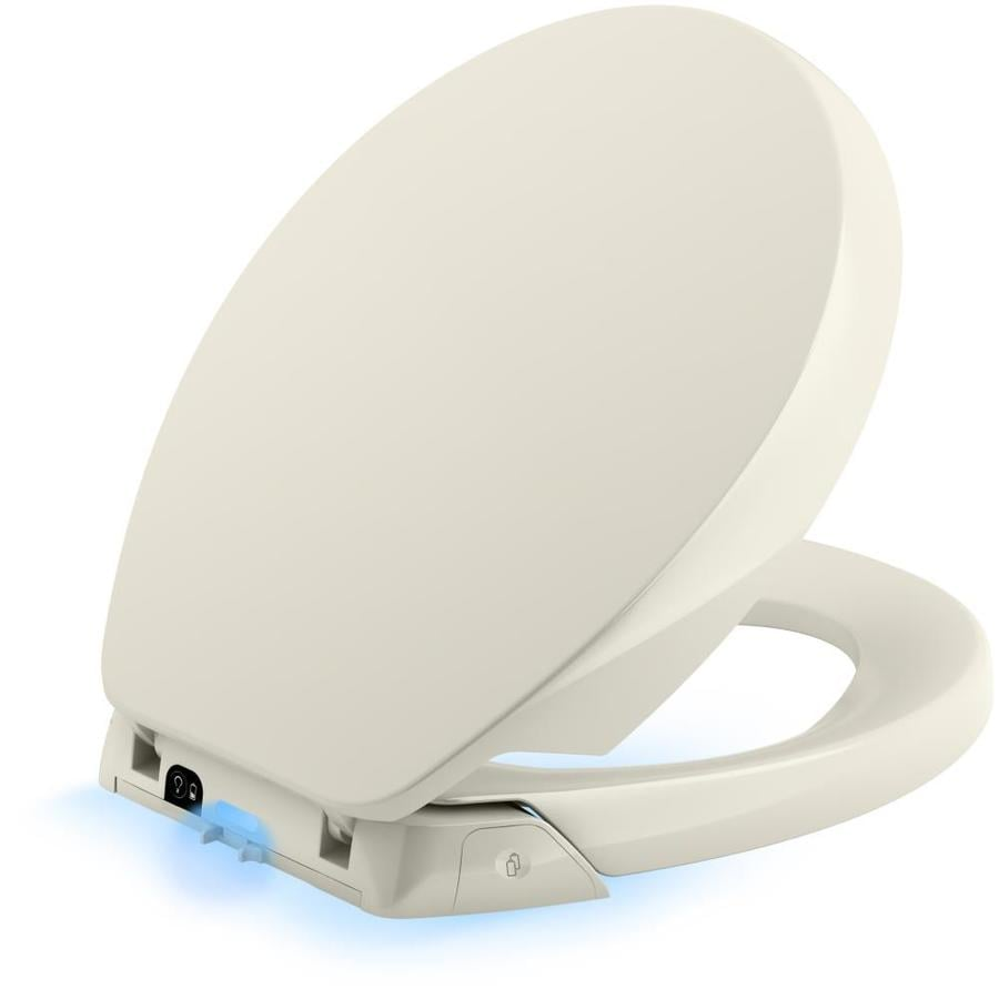 KOHLER Purefresh Nightlight Plastic Slow-Close Toilet Seat