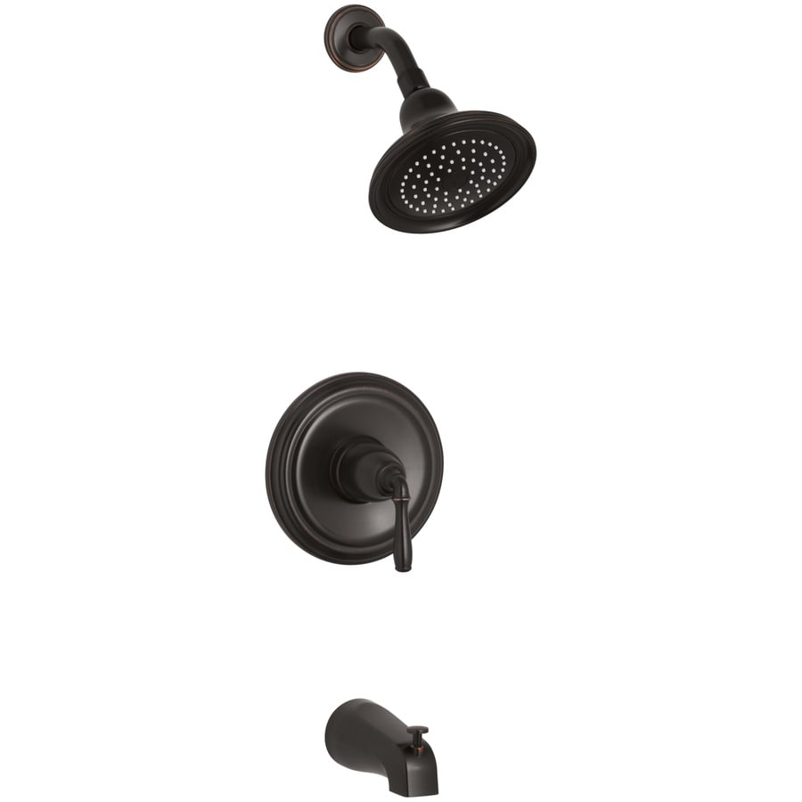 Kohler Devonshire Oil Rubbed Bronze 1 Handle Bathtub And Shower
