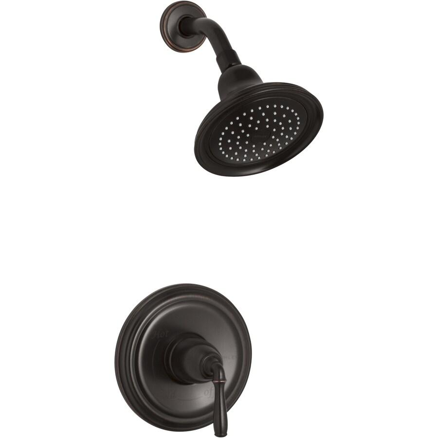 KOHLER Devonshire Oil-Rubbed Bronze 1-Handle Shower Faucet
