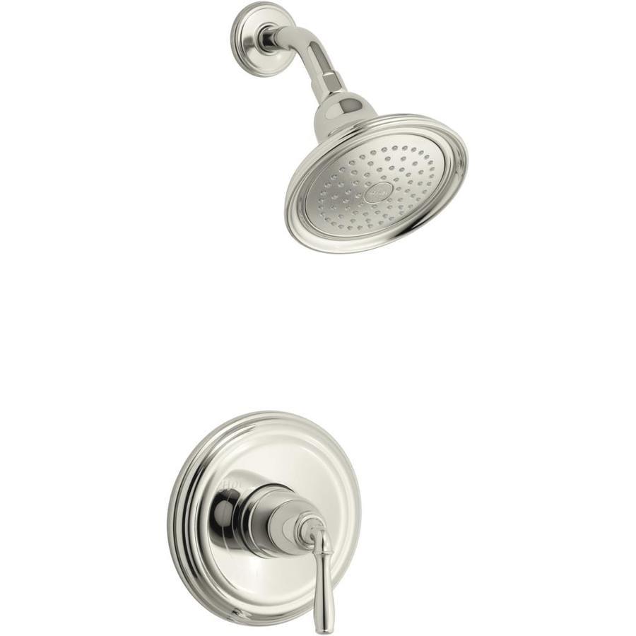 KOHLER Devonshire® Rite-Temp® Shower Valve Trim with Lever Handle and 2.0 -GPM Showerhead