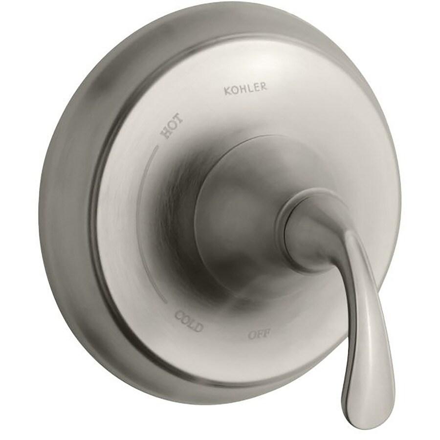 KOHLER Vibrant Brushed Nickel Lever Shower Handle
