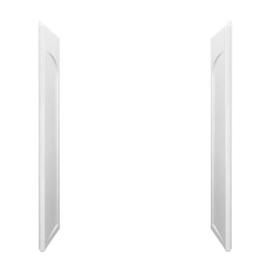 Sterling Ensemble White Shower Wall Surround Side Panel (Common: 60-in x 32-in; Actual: 71.5-in x 60-in x 32-in)