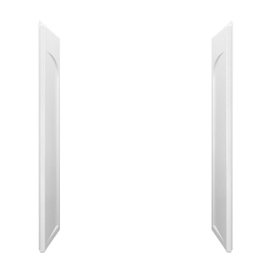 Sterling Ensemble White Shower Wall Surround Side Wall Panel Kit (Common: 0.25-in x 32-in; Actual: 71.5-in x 0.25-in x 32-in)